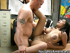 Chica Havana Ginger is just desperate for sex in this steamy fuck action with Derrick Pierce