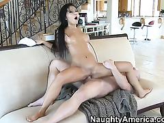 Asa Akira having sensual sex with hot dude Jenner