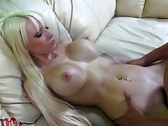 Rikki Six spreads her legs for Porno Dan